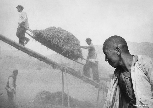 Gansu, by Marc Riboud 1957