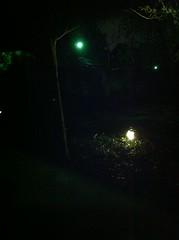 Light Pollution from Backyard
