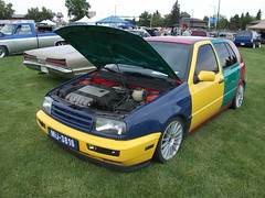 automobile, automotive exterior, vehicle, volkswagen golf mk3, city car, compact car, bumper, land vehicle, hatchback,