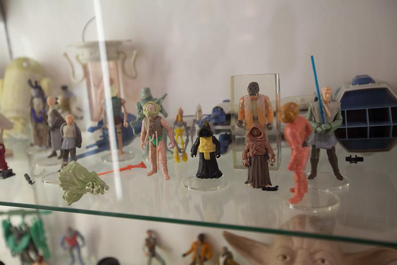 A TON of star wars prototypes at Nostalgia Museum