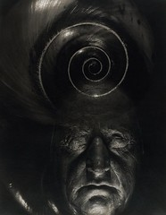 Mask of Goethe and Spiral, by Edward Steichen 1932