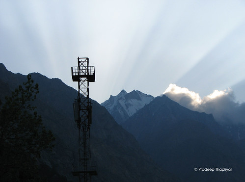 india mountain sunrise religious temple outdoor hill hindu hillstation gangotri uttranchal uttrakhand sunriseatgangotri