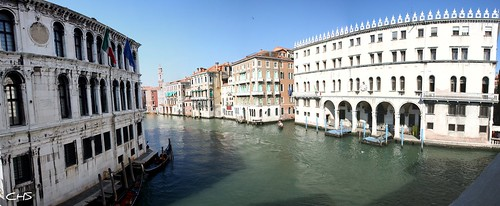 View from Rialto Birdge, Venice by Stocker Images