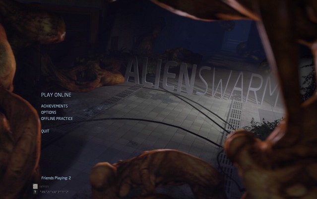 Alien, Swarm, action, games, Linux