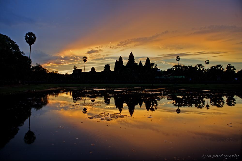Angkor Wat Sunrise - Siem Reap