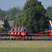 The Red Arrows 01 by Ronnie Macdonald