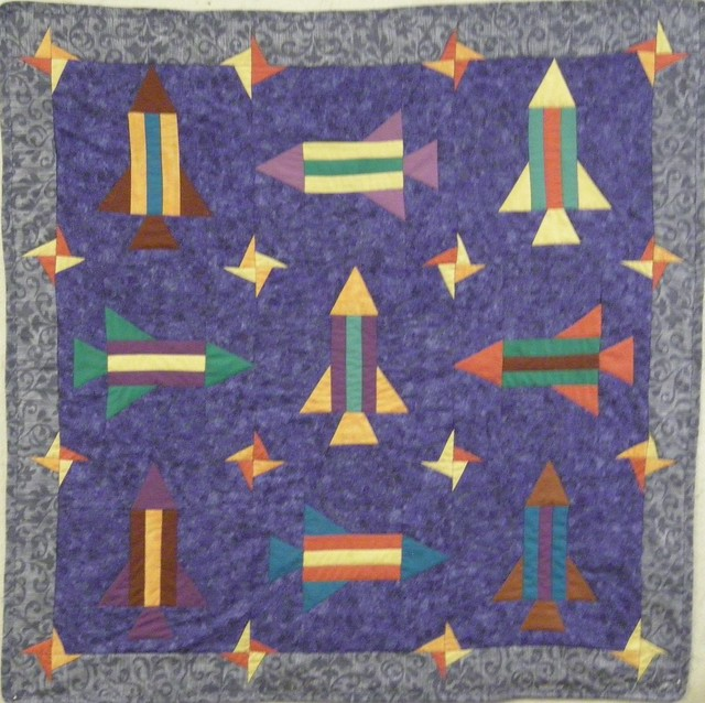 Photo for Spaceship quilt