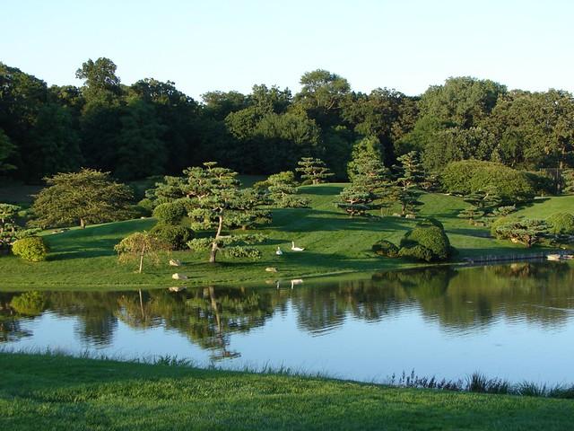 Japanese garden chicago botanic garden japanese garden for Japanese botanical garden