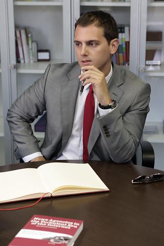 Albert Rivera visita l'ACN