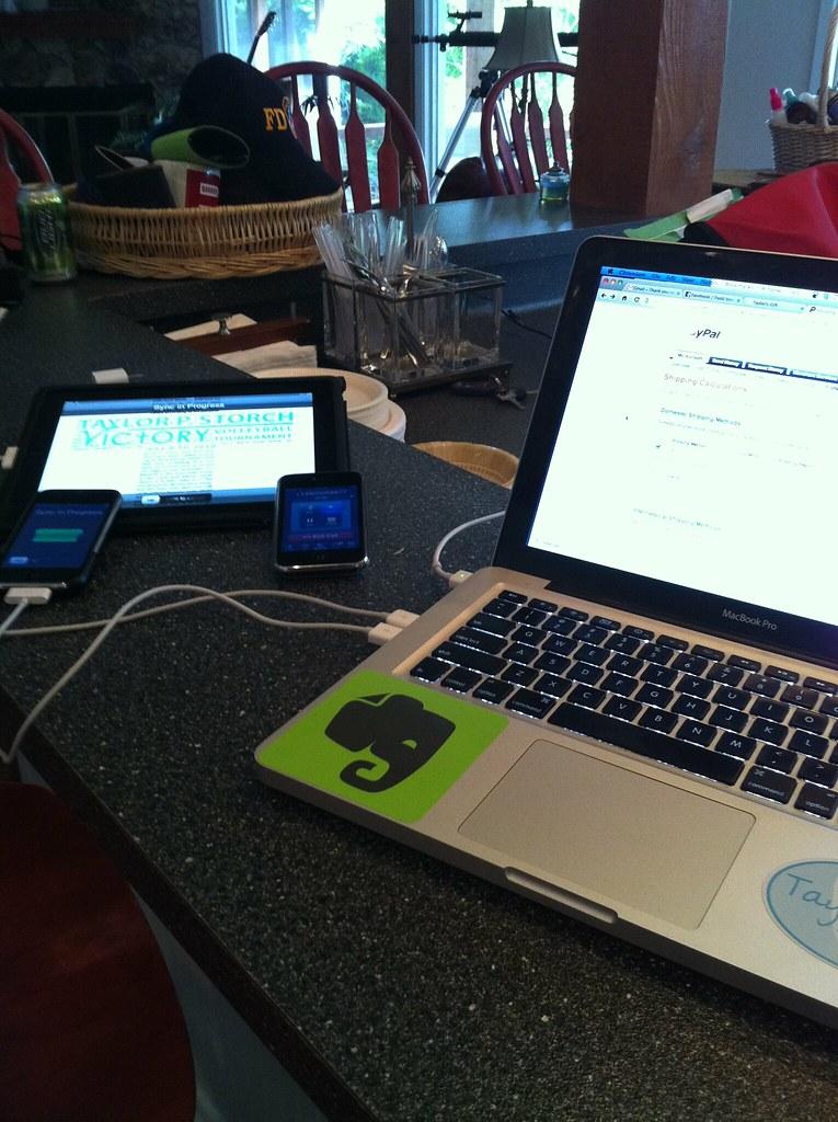Yes, I am an Apple geek #fb