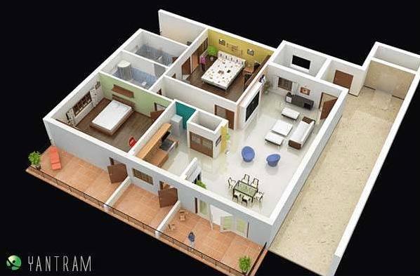 3d Floor Plan Uae Flickr Photo Sharing