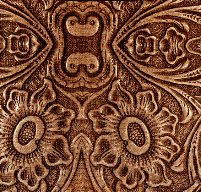 Embossed Leather Design Flickr Photo Sharing