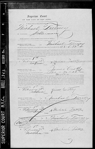 Michael Tierney Naturalization