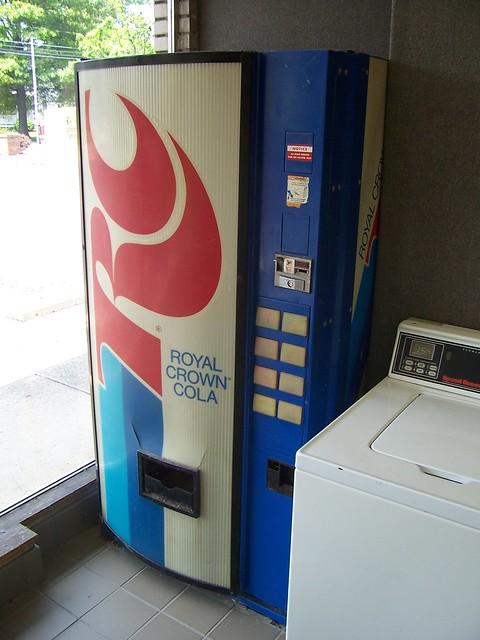 rc cola machine