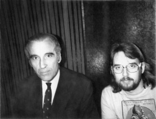 Christopher Lee and Will Hart - Dec 5, 1976