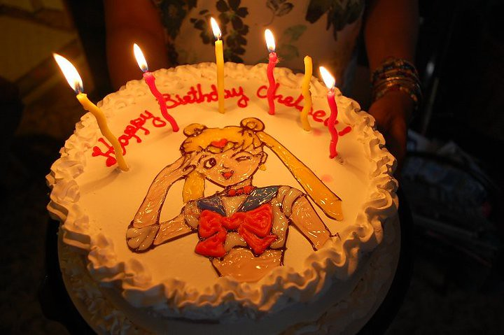 Sailor Moon Birthday Cake