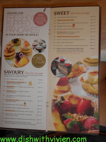 Food blog malaysia kuala lumpur and selangor kl dish for Canape menu prices