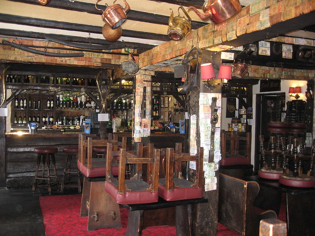 Jamaica Inn - the bar