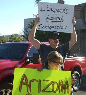 Support for Arizona & E-Verify in Norco, CA