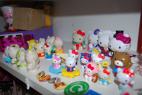 Hello Kitty Figures.
