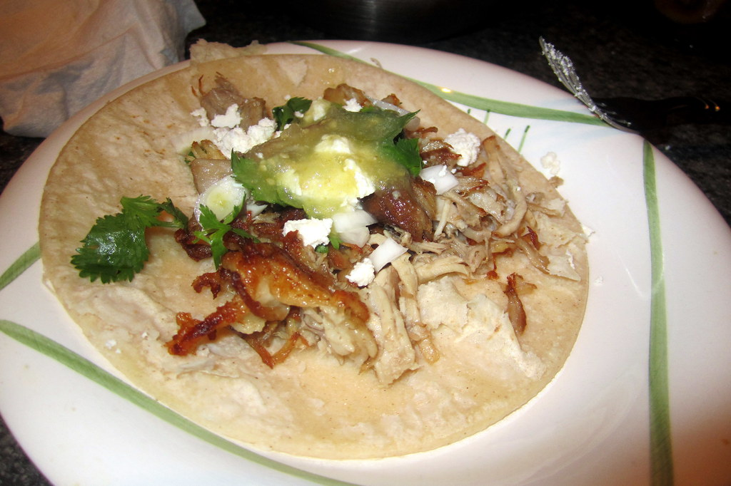 No-Waste Tacos de Carnitas with Salsa Verde | Flickr - Photo Sharing!