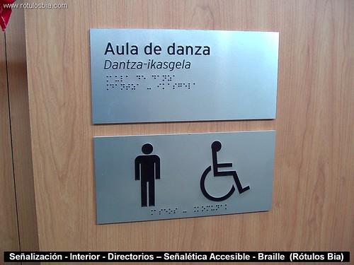 Señal De Localización: La Señalización Braille, Esta
