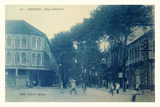 SAIGON -- La rue Catinat