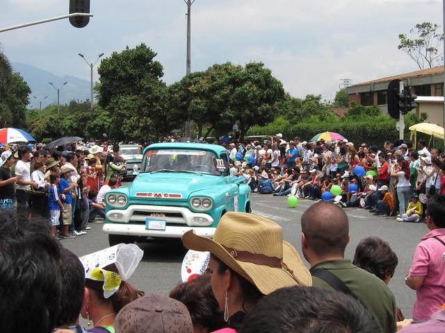 An old GMC truck.