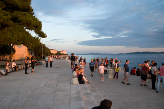 Zadar, Croatian holiday 2010