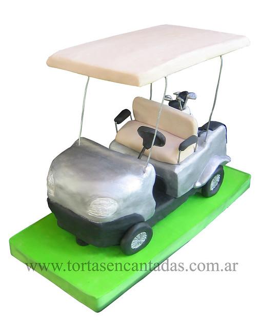 Golf Cart Cake Decorating Kit