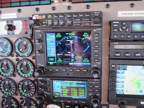 Seneca V Cockpit