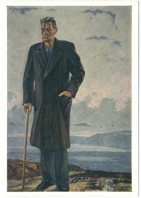 Maxim Gorky_Sovetskiy Judozhnik. Illustr. P. D. Korin