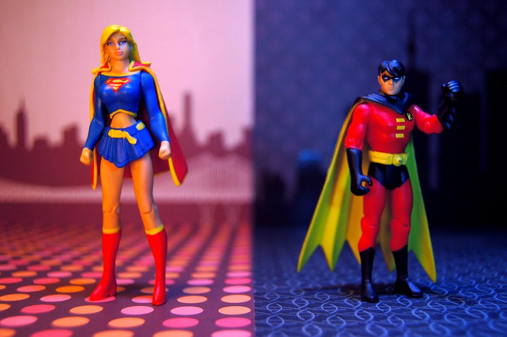 Supergirl vs. Robin (228/365)