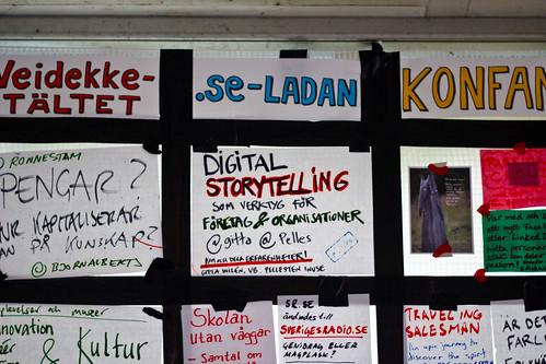 Digital storytelling som verktyg för företag och organisationer @ SSWC 2010 (Sweden Social Web Camp)