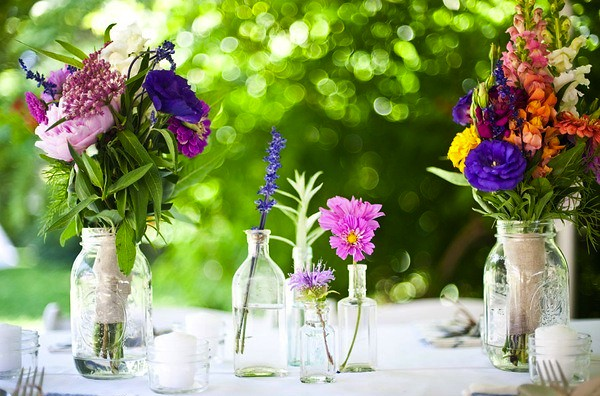 Flowers-Summer Garden Wedding-Style Me Pretty-Camille Styles Events