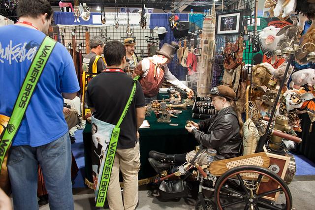 Steampunk Wheelchair? awesome...