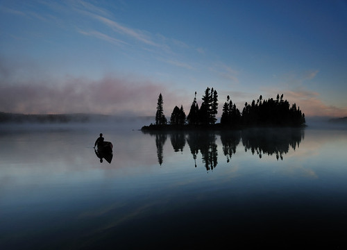 Islands & Canoe, Pilgrim Lake