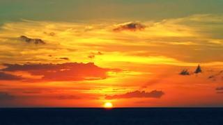 Sunset @ Kaumalapau Harbor