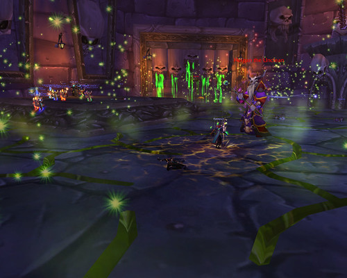 Naxxramas - Plague Quarter - Dancing with Heigan
