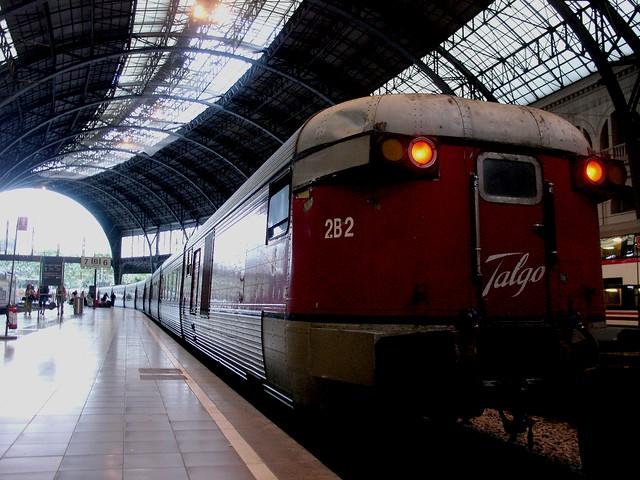 Talgo 2B2 Montpellier-Barcelona