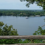 Bay of Quinte - overlook at Lake on the Mountain - ferry en route