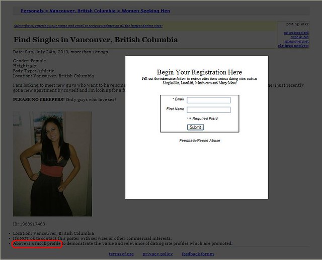 Dating craigslist safe