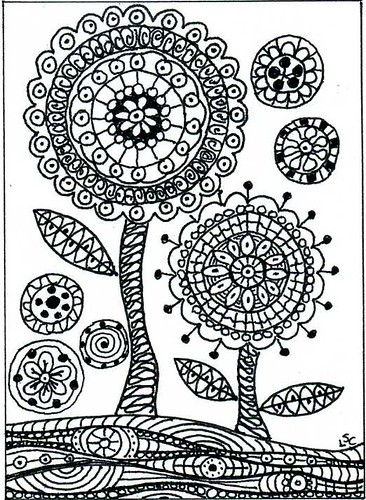 Flickriver: dots n doodles s photos tagged with zendoodle