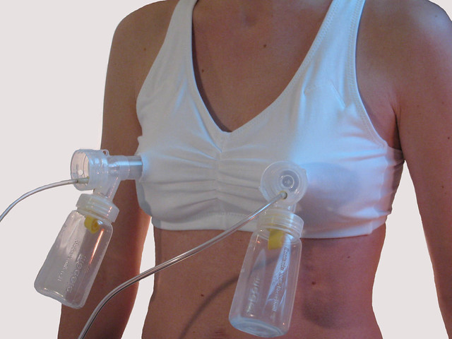 Overuse of breast pump