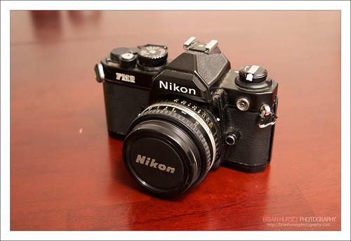 Nikon FM2 without Motor drive.