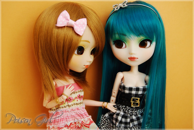 Hachi & Aoi - Pullips Nina & Prunella