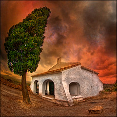 0547 Ermita de Sant Antoni (Fisheye world)