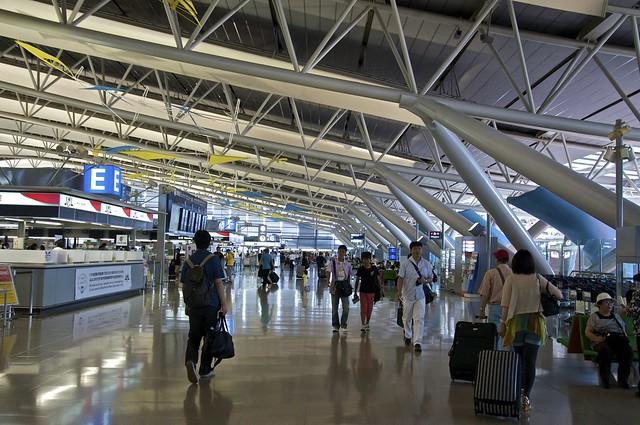 KIX departure lounge