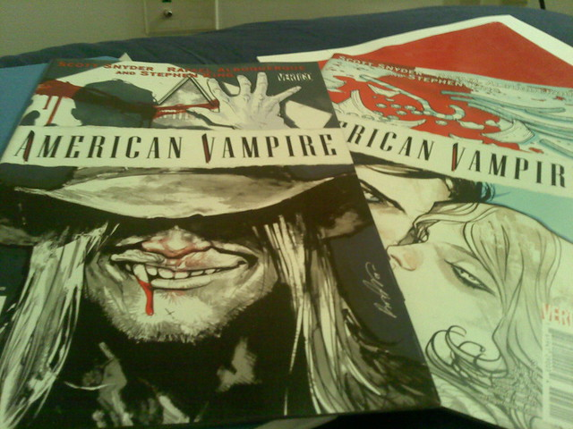 Header of American Vampire