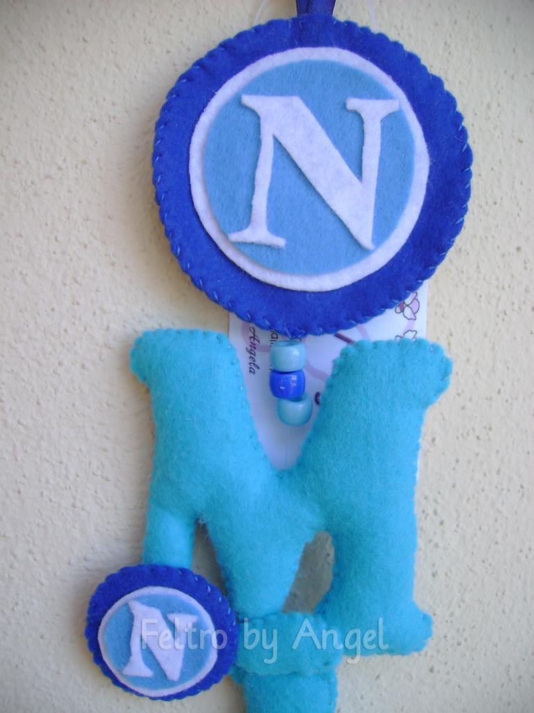 Per La Cameretta Di Michele Tifoso Del Napoli Feltro By Angel